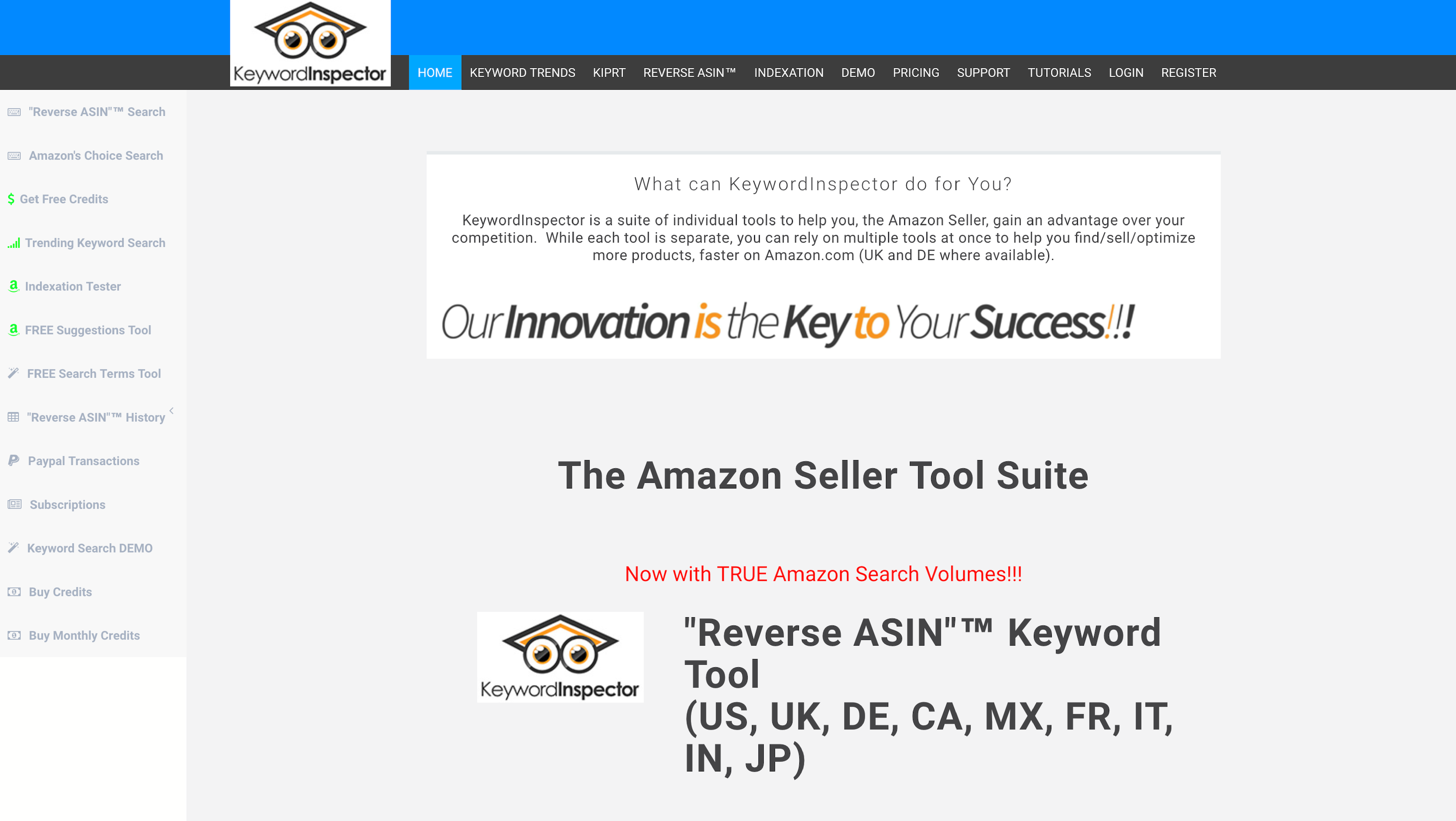 We use Keyword Inspector Tool for keyword research