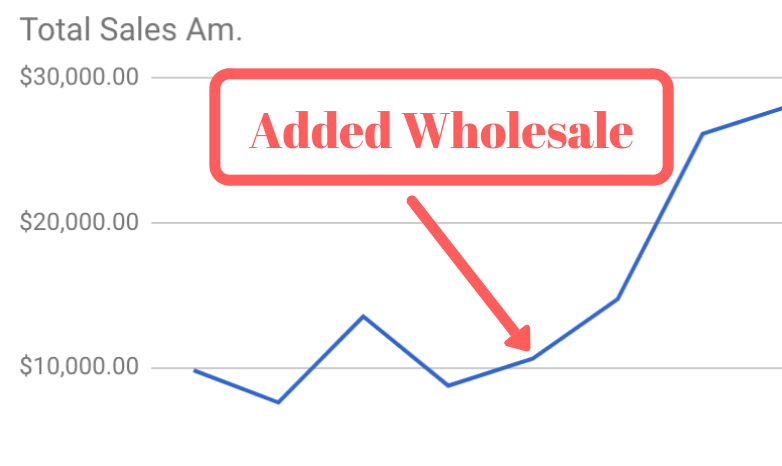 Increasing monthly sales by adding wholesale on Amazon